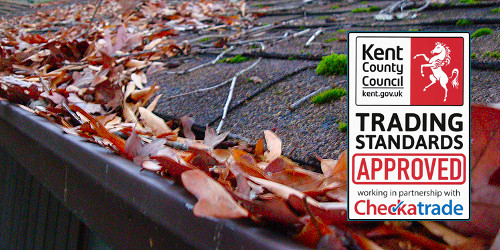 Gutter cleaning in Dartford, Hextable, Swanley and Longfield